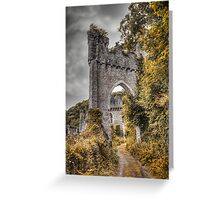 Gwrych Castle Collection 30 Greeting Card