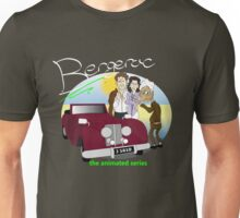 Bergerac - the animated series (white text) Unisex T-Shirt