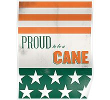 Proud to be a Cane Poster
