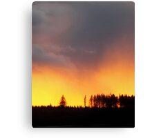 Minera Sunset Canvas Print