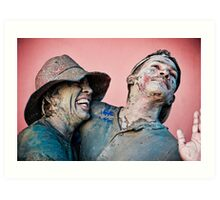 J'Ouvert love Art Print