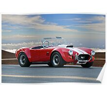 1965 Shelby Cobra 'Above it all' Poster