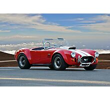 1965 Shelby Cobra 'Above it all' Photographic Print