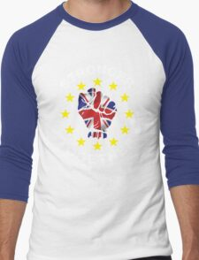 Stronger Together, UK, Brexit, Ukip T-shirt Men's Baseball ¾ T-Shirt