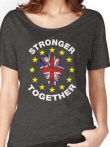 Stronger Together, UK, Brexit, Ukip T-shirt Women's Relaxed Fit T-Shirt