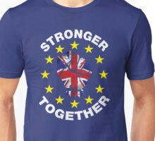 Stronger Together, UK, Brexit, Ukip T-shirt Unisex T-Shirt