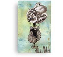 Flotilla - Trejean & Octopus Canvas Print