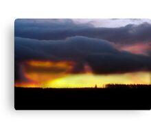 Minera Sunset 2 Canvas Print