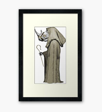 Killer Monk Framed Print