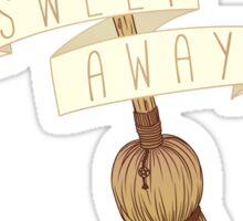 Sweep Away - Besom Sticker