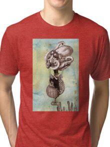Flotilla - Trejean & Octopus Tri-blend T-Shirt