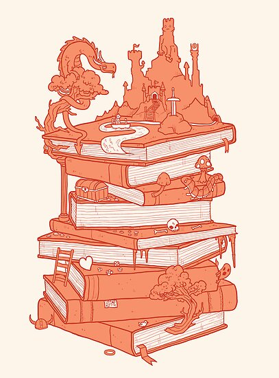 Magic of books by MathijsVissers