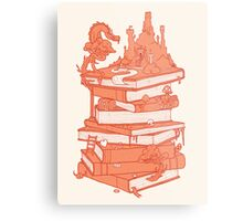 Magic of books Metal Print