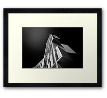 Broadcasting Tower in Leeds Framed Print