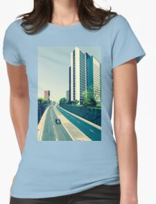 """Leeds """"Autobahn"""" - Yorkshire - England Womens Fitted T-Shirt"""