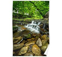 Yorkshire Dales Burbling Stream Poster
