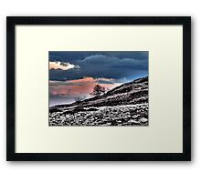 Minera Sunset 4 Framed Print
