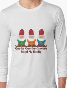 One By One The Gnomes Long Sleeve T-Shirt