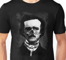 Edgar Poe Horror Mask Unisex T-Shirt