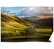 Barns in Swaledale  Poster