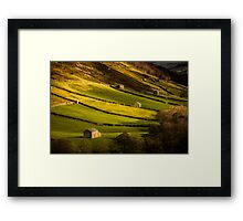 Swaledale Barns - Yorkshire Dales Framed Print