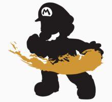 Fireball Mario Baby Tee