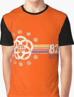 EPCOT Center Vintage Style Distressed Pavilion Logos  Graphic T-Shirt