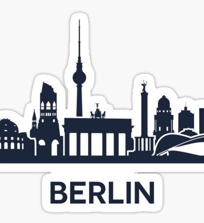 Berlin, dark Sticker