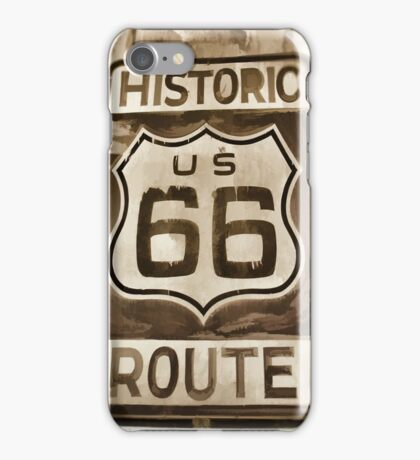 Historic Route 66  iPhone Case/Skin
