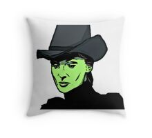 The Wicked Witch Throw Pillow