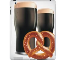 Beer and pretzels iPad Case/Skin