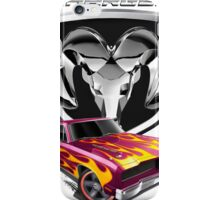 The Legendary Muscle Car iPhone Case/Skin