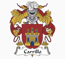 Carrillo Coat of Arms/Family Crest Baby Tee