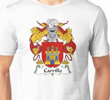 Carrillo Coat of Arms/Family Crest Unisex T-Shirt