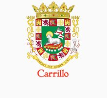 Carrillo Shield of Puerto Rico Unisex T-Shirt