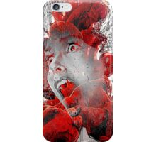 A soul in hell iPhone Case/Skin