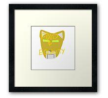 Yellow Lion: Voltron Legendary Defender Framed Print