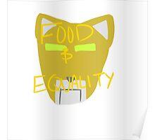 Yellow Lion: Voltron Legendary Defender Poster