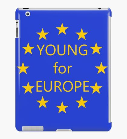 Young for Europe iPad Case/Skin