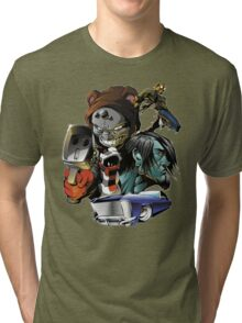 Content with KAOS cover 1  Tri-blend T-Shirt