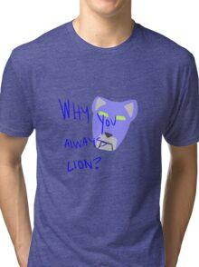Blue Lion: Voltron Legendary Defender Tri-blend T-Shirt