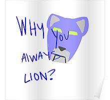 Blue Lion: Voltron Legendary Defender Poster