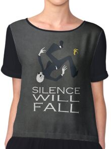 Silence Will Fall Chiffon Top