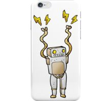 Excited Robot iPhone Case/Skin