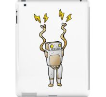 Excited Robot iPad Case/Skin