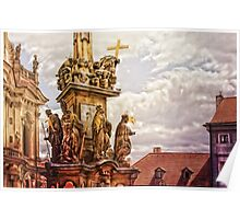 Prague St. Nicholas Church Poster