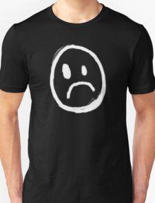 Content with KAOS unhappy face symbol T-Shirt