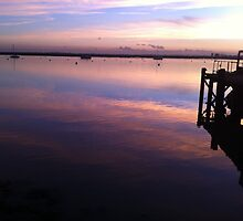River Crouch Sunset 1 by AriadneBlue