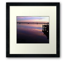 River Crouch Sunset 1 Framed Print
