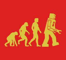 Sheldon Robot Evolution by tvmovietvshirt
